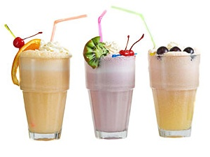 Молочный коктейль с ягодами / www.foodclub.ru. капельное орошение...