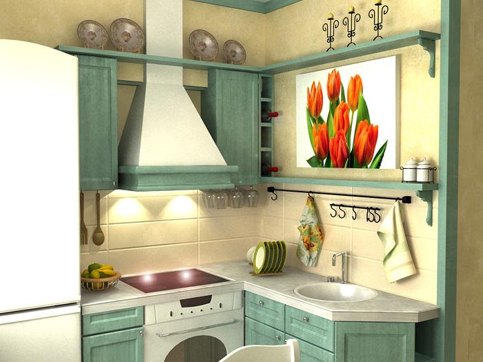 Угловой кухни 6 кв м в хрущевке 6 фото